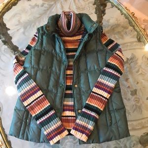 Missoni puffer vest with detachable hood!